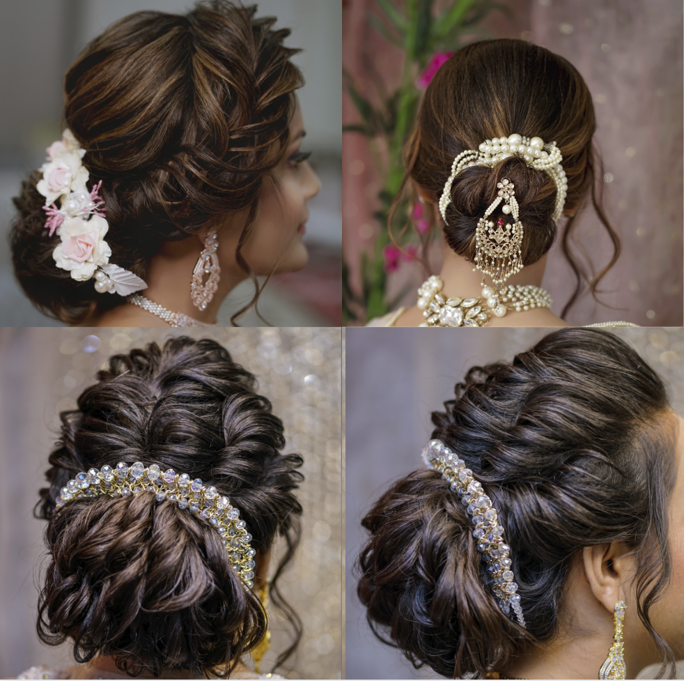 bridal hairstyle accessories